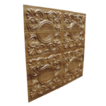 N 123 – Abstract wood Side View – 1