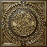 N 101 – Antique Brass-Nova-decorative-ceiling-tiles-antique-decor