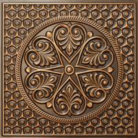 N 107 - Antique Gold-Nova-decorative-ceiling-tiles-antique-decor