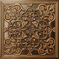 N 122 - Antique Gold-Nova-decorative-ceiling-tiles-antique-decor