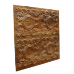 N123 – Cracked Wood Side View-Nova-Decorative -Ceiling-Tiles-Antique-decor