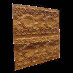 N123 – Natural Wood Side View-Nova-Decorative -Ceiling-Tiles-Antique-decor