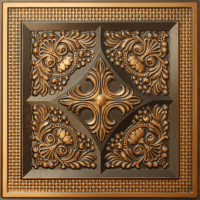 N 125 - Antique Gold-Nova-decorative-ceiling-tiles-antique-decor