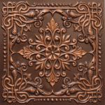 N 127 – Antique Copper-Nova-decorative-ceiling-tiles-antique-decor