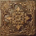 N 127 – Antique GoldNova-decorative-ceiling-tiles-antique-decor