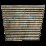 N 134 – Rustic Patina Side View – 2