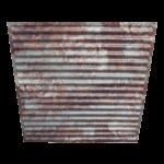 N 134 – Rusty Metal Side View – 2