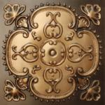 N 135 – Antique Gold–Nova-decorative-ceiling-tiles-antique-decor