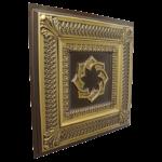 N137-Antique-Brass-Sid-View-1-Nova-decorative-ceiling-tiles-antique-decor