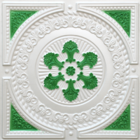 N101-Pearl-White-Green-Nova-Decorative-Ceiling-Tiles-Antique-Decor