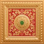 N104-Gold-Red-GreenN104-Gold-Green-Red-Nova-decorative-ceiling-tiles-antique-decor