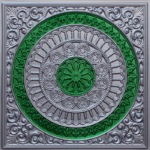 N116-Silver-Green-Nova-Decorative-Ceiling-Tiles-Antique-Decor