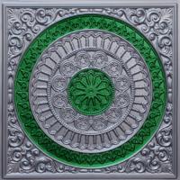 N116-Silver-Green-Nova-Decorative-Ceiling-Tiles-Antique-Decor