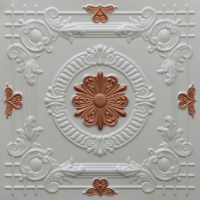 N 118 - Pearl White - Copper-Nova-decorative-ceiling-tiles-antique-decor
