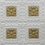 N119 – Pearl White – Brass-Nova-decorative-ceiling-tiles-antique-decor