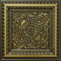 N 121 - Antique Brass-Nova-decorative-ceiling-tiles-antique-decor