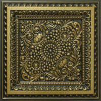 N 121 - Antique Brass-Nova-decorative-ceiling-tiles-antique-decor