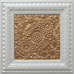 N 121 – Pearl White – Gold-Nova-decorative-ceiling-tiles-antique-decor