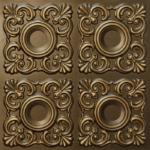 N 123 – Antique Brass-Nova-decorative-ceiling-tiles-antique-decor