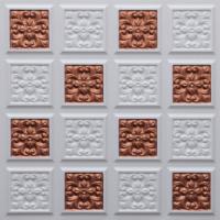 N124 - Glamor White - Copper-Nova-decorative-ceiling-tiles-antique-decor