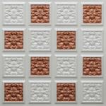 N124 – Pearl White – Copper-Nova-decorative-ceiling-tiles-antique-decor