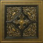 N 125 – Antique Brass-Nova-decorative-ceiling-tiles-antique-decor