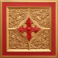 N125-Gold-Red-Nova-Decorative-Ceiling-Tiles-Antique-Decor