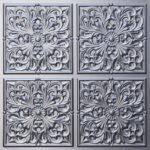N126 Silver Nova-decorative-ceiling-tiles-antique-decor