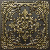 N 127 - Antique Brass-Nova-decorative-ceiling-tiles-antique-decor