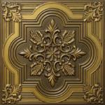 N 131 – Antique Brass-Nova-decorative-ceiling-tiles-antique-decor