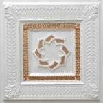N137-Pear-White-Gold-Nova-decorative-ceiling-tiles-antique-decor