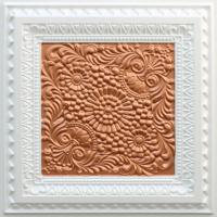 N121 Pearl White Copper-Nova-decorative-ceiling-tiles-antique-decor