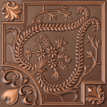 N 120 – Antique Copper-Nova-decorative-ceiling-tiles-antique-decor