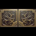 N 129 – Antique Brass-Nova-decorative-ceiling-tiles-antique-decor