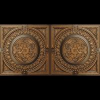 N 4101 - Antique Gold-Nova-decorative-ceiling-tiles-antique-decor
