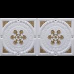 N 4101 – Glamor White – Brass-Nova-decorative-ceiling-tiles-antique-decor