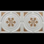 N 4101 – Pearl White – Gold-Nova-decorative-ceiling-tiles-antique-decor