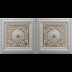 N 4104 – Pearl White – Gold-Nova-decorative-ceiling-tiles-antique-decor