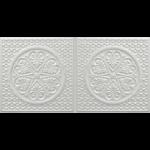 N 4107 – Pearl White-Nova-decorative-ceiling-tiles-antique-decor
