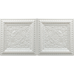 N 4121 – Pearl White-Nova-decorative-ceiling-tiles-antique-decor