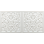 N 4122 – Pearl White-Nova-decorative-ceiling-tiles-antique-decor