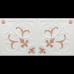 N4129 Pearl White Copper Nova decorative ceiling tiles antique decor
