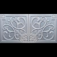 N 4129 - Silver-Nova-decorative-ceiling-tiles-antique-decor