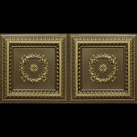 N4132 Antique Brass Nova decorative ceiling tiles antique decor
