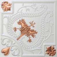 N 120 - Pearl White - Copper-Nova-decorative-ceiling-tiles-antique-decor