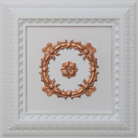 N 132 - Glamor White - Copper-Nova-decorative-ceiling-tiles-antique-decor