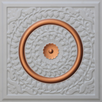 N 138 - Glamor White - Copper-Nova-decorative-ceiling-tiles-antique-decor