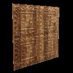 N119 Natural Wood Side View-Nova-Decorative -Ceiling-Tiles-Antique-decor