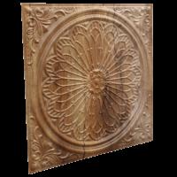 N110 Cracked Wood Side View-Nova-decorative-ceiling-tiles-antique-decor