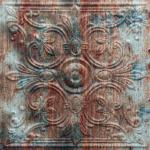 N115 – Rusty Old Paint-Nova-Decorative -Ceiling-Tiles-Antique-decor